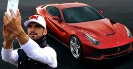 """Qayınanası motosikletçiyə """"Ferrari"""" hədiyyə etdi"""