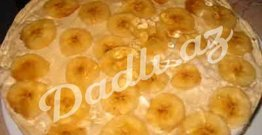 Bananlı jeleli şirniyyat