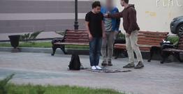 Sosial eksperiment-Moskvada namaza reaksiya