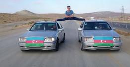 Azərbaycanlı gənc Van Damın məşhur şpaqatını təkrarladı – VİDEO