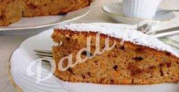 Qozlu, darçınlı, köklü tort