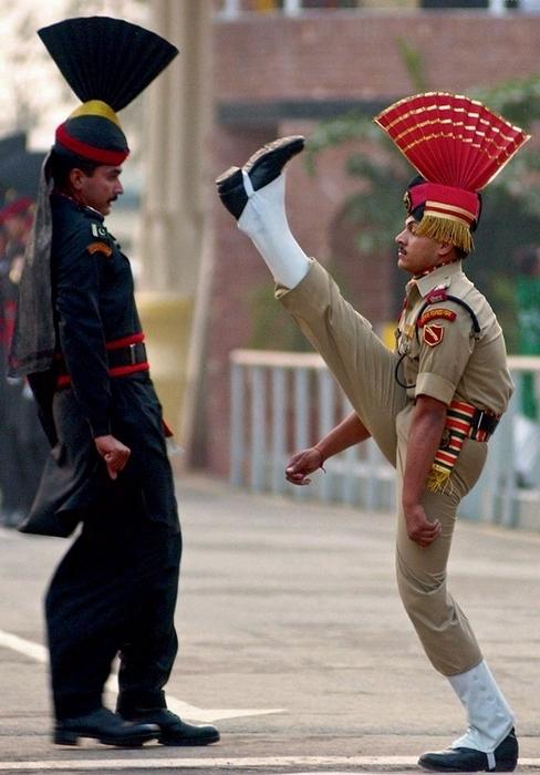 Pakistan hərbçiləri.