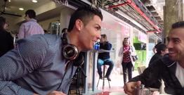 Ronaldo 3 qurtum çay içdi, görün nə qədər foto çəkdilər?!