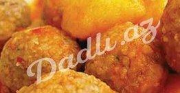 Kartoflu sulu küftə