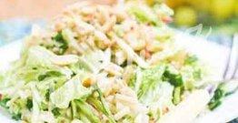 Ballı-limonlu tərəvəz salatı
