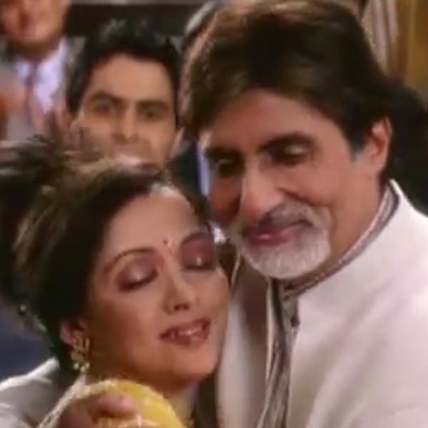 Amitabh Bachchan, Hema Malini - Meri Makhna Meri Soniye (Baghban)